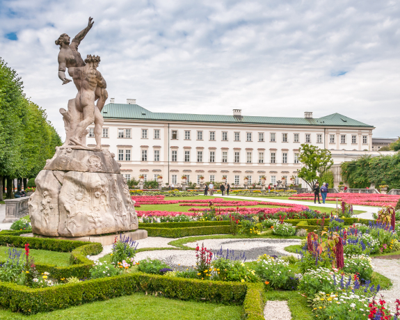 Gardens In Mirabell Palace