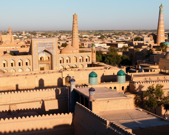 SilkRoad-Evening-View-Of-Khiva-chiva-62497397
