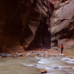 zion-hiker-the-sweetie-hiking-in-zion-narrows